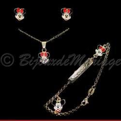 Minnie, parure bijoux