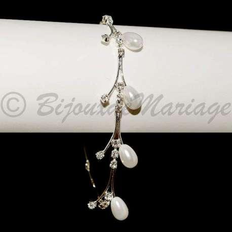 Bracelet mariage Une fée,ton argent