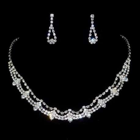 Parure de bijoux mariage EWA