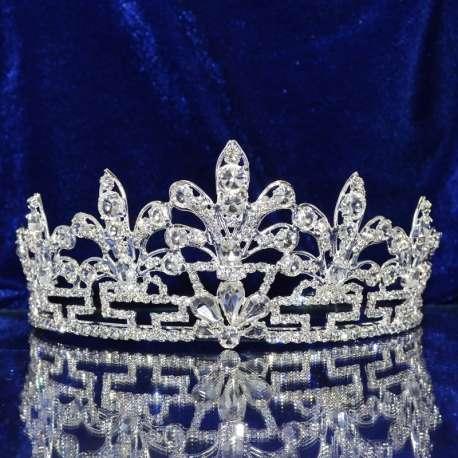 Diademe mariage royal, Emblème, ton argenté