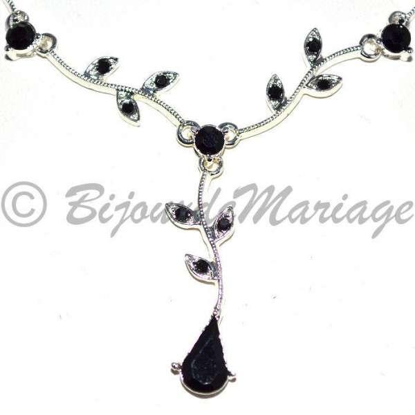 parure de bijoux de mariage neptune coloris cristal au choix ton or ou argent. Black Bedroom Furniture Sets. Home Design Ideas